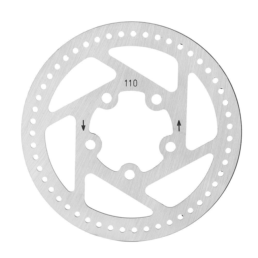 Alomejor Piezas de Recambio electricas de la Almohadilla del Rotor del Disco del Freno de la Vespa del 11cm para Xiaomi Mijia M365