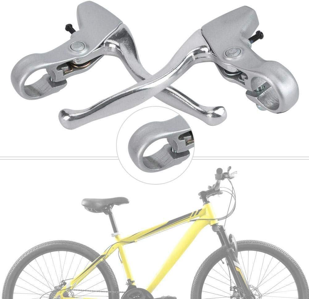 Juego de Freno de Aluminio MTB Freno V-Brake Palanca de Freno de Aluminio Bicicleta de Carretera Pu/ños de Freno adecuados para Bicicleta