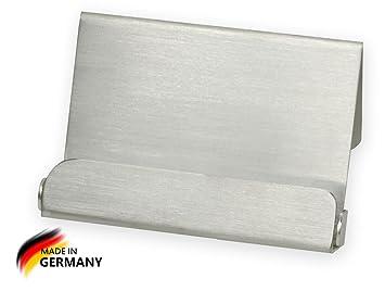Visitenkartenhalter Edelstahl Gebürstet Metall Amazon De