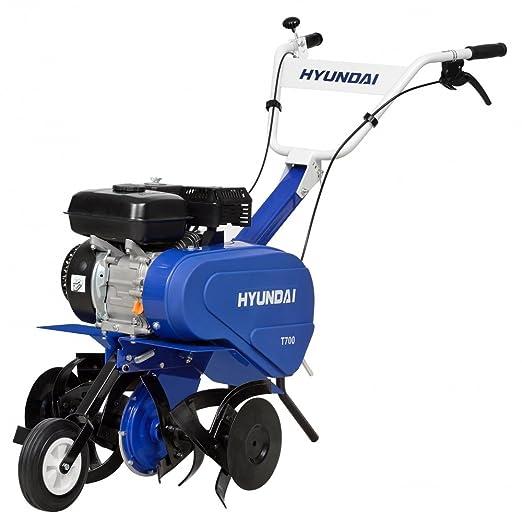Hyundai HY-HYT700 MOTOAZADA, Azul/Negro: Amazon.es: Jardín