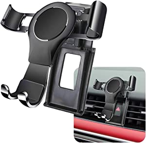 LUNQIN Car Phone Holder for 2018-2020 Land Rover Range Rover Sport Auto Accessories Navigation Bracket Interior Decoration Mobile Cell Phone Mount