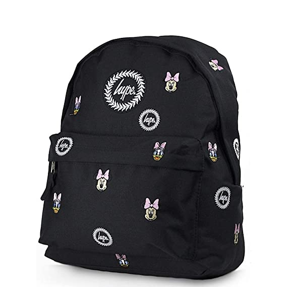 8466c3bb9d05 HYPE Disney Faces Backpack Black Schoolbag DIS18121 Hype Bags ...