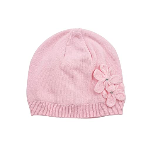 b84d9fc1016 LLmoway Kids Beanie Hat Toddler Girl Knit Hat Soft Cotton Warm Skull Cap
