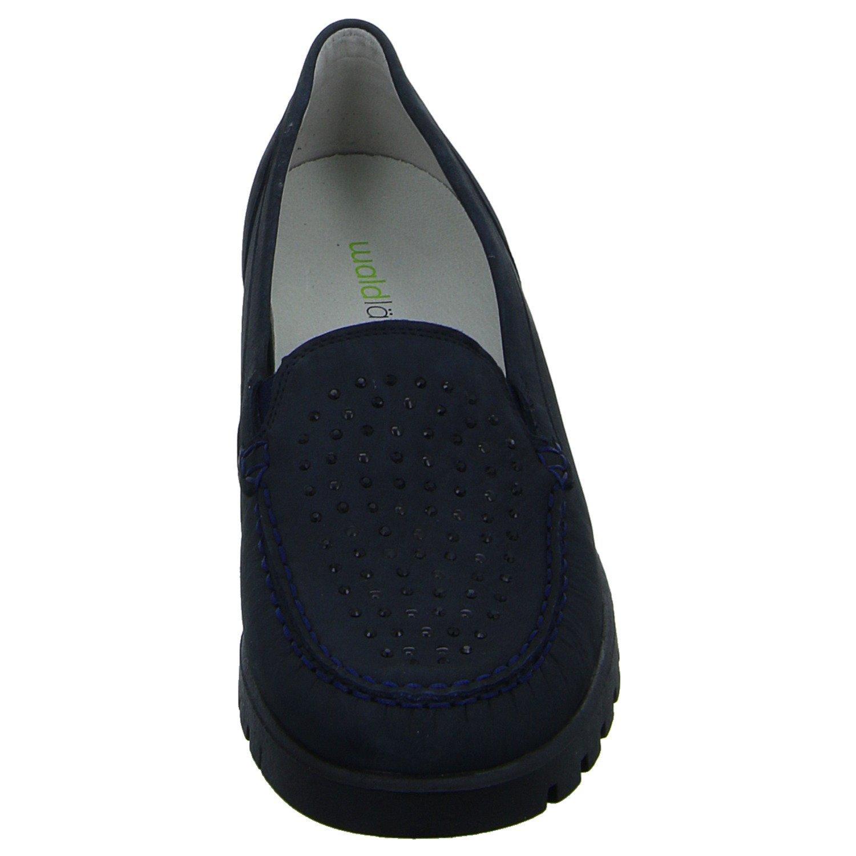 Waldläufer 549013 191 194 Extra Damen Komfort Slipper Halbschuh Extra 194 Weit Blau (Blau) 1e4851