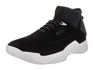 Nike Men s Hyperdunk Low Lux Black Black White Basketball Shoe 9 Men US 05097b4d26