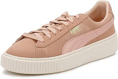 PUMA Basket Platform Core Mujer Zapatillas Rosa