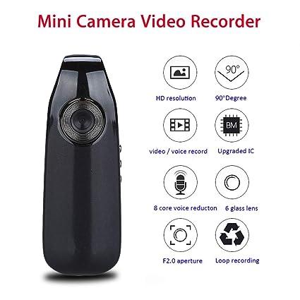 WENL HD 1080 P Mini cámara Gran Angular 90 ° cámara espía Conferencia portátil de Audio