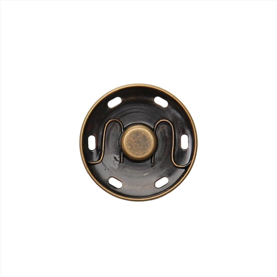 胸寛容反発卓上プレス + プラスナップ 13mm オフホワイト 12組入りセット