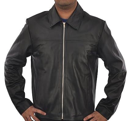 3456e258c490 eGenius Daniel Craig Layer-Cake Motorcycle Leather Jacket  Amazon.co.uk   Clothing