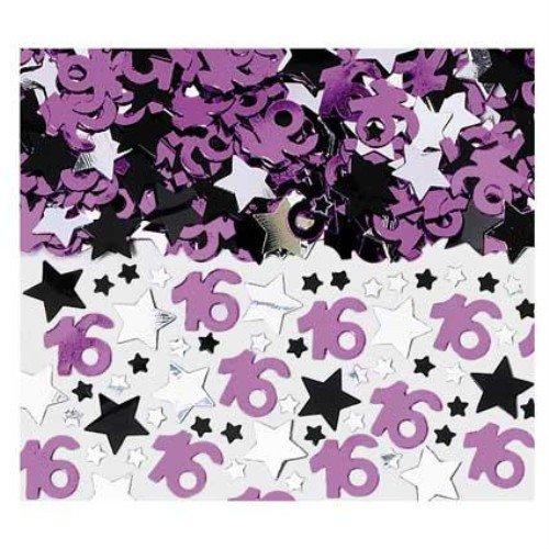 (Metallic Sweet 16 Confetti)