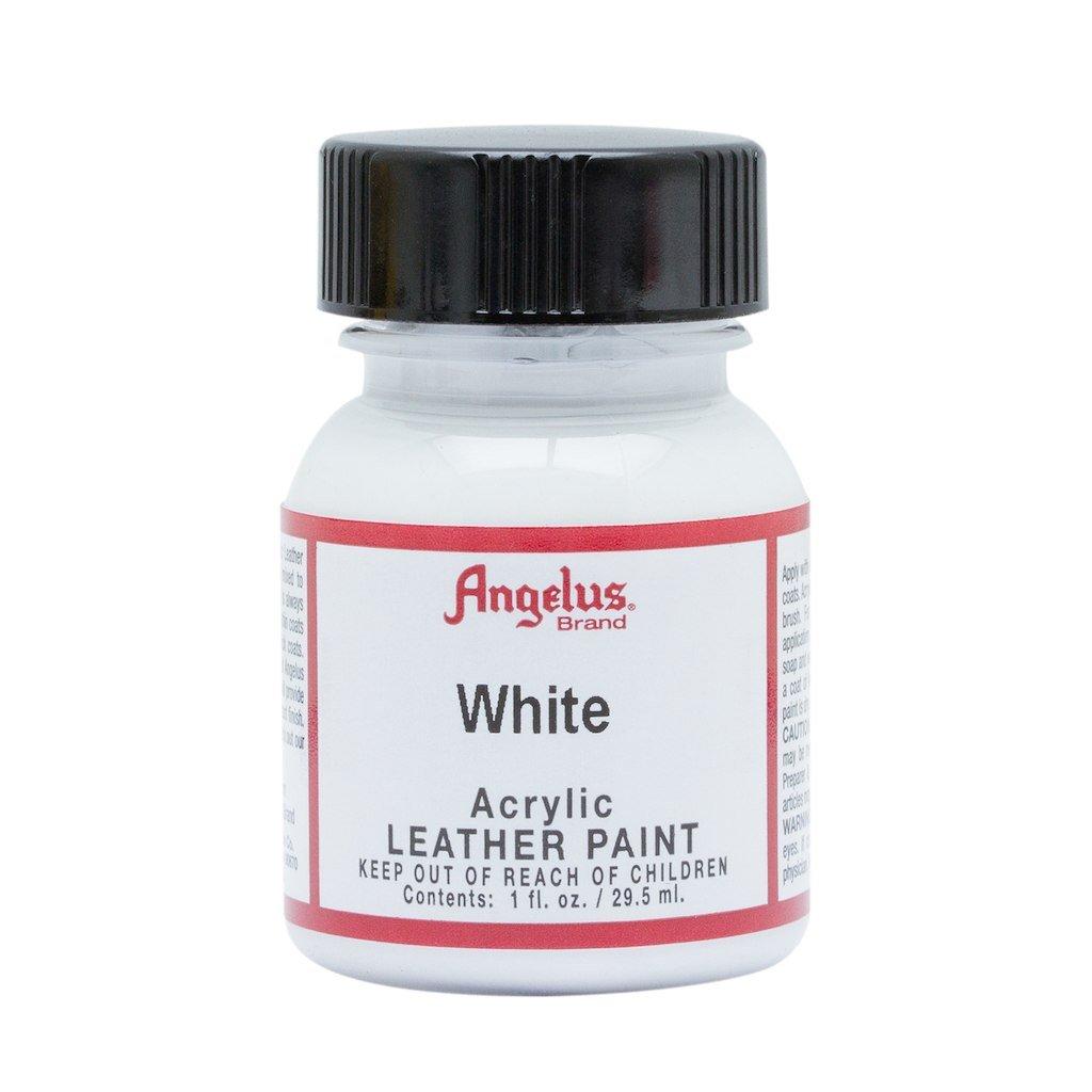 2b8877d86 Angelus Brand Acrylic Leather Paint - White - 1oz: Amazon.co.uk: Shoes &  Bags