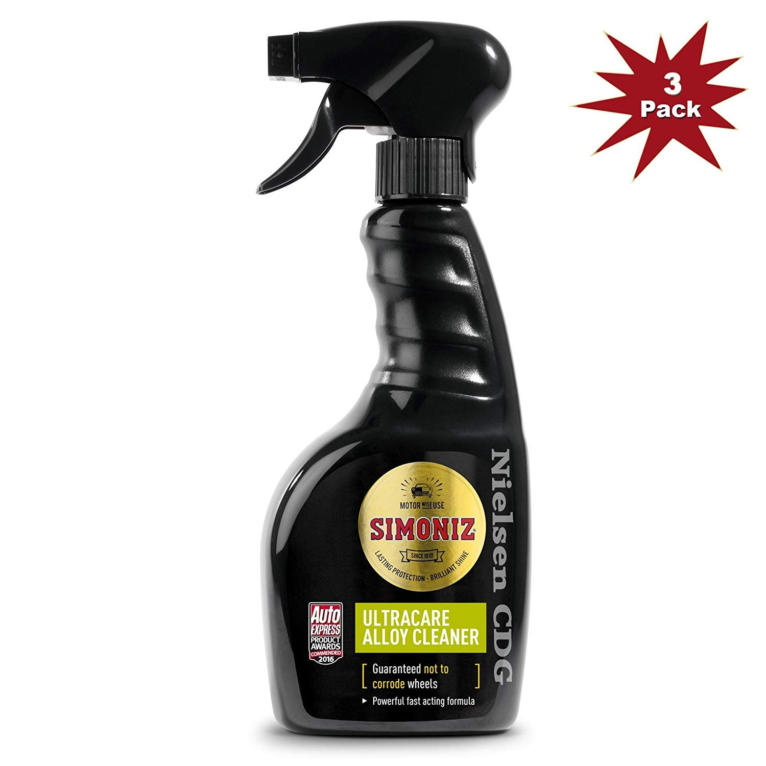 Simoniz Ultracare Alloy Wheel Cleaner - 3x500ml = 3pk Nielsen CDG