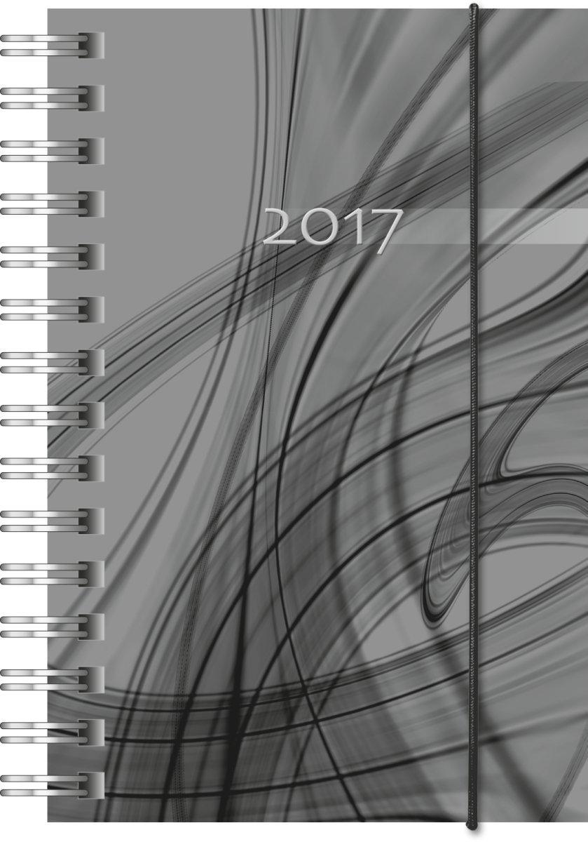 2 Seiten = 1 Woche Brunnen 107278090 Taschenkalender Modell Opus 727 76 x 127 mm PP-Einband schwarz Kalendarium 2019
