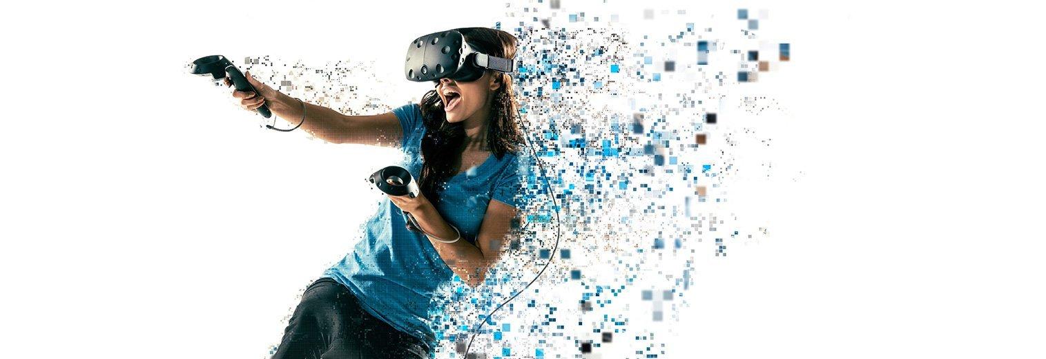 MSI VR ONE Virtual Reality Backpack PC I i7-7820HK GTX 1060 16GB DDR4 256GB NVMe SSD & HTC VIVE - Virtual Reality System Bundle