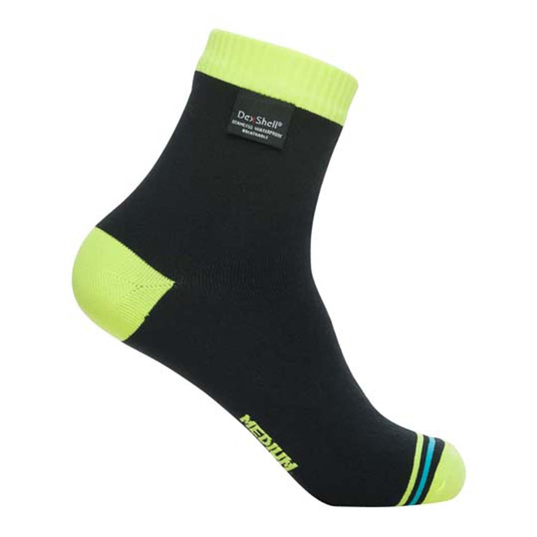 DexShell Ultralite Waterproof Socks, Hi-Vis Yellow, Small