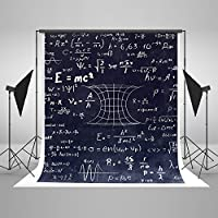 Kate 5x7ft(1.5x2.2m) Back to School Photography Backdrops for Photographers Cotton No Wrinkle Reused for Children Blackboard Math Photo Backdrop