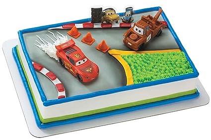 Amazon Com Disney Pixar Cars 2 World Grand Prix Cake Decorating Kit
