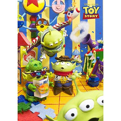 Disney Pixar Toy Story Alien Park 3D Lenticular Greeting Card / Disney 3D Postcard