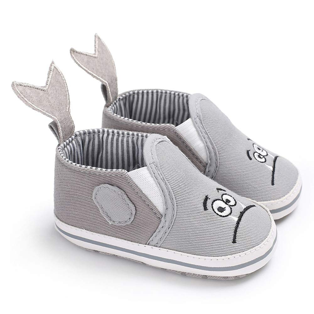 PanGa Baby Boys Girls Non-Slip Soft Rubber Sole Slippers Pu Leather Cartoon Sneakers Toddler Infant First Walkers Crib Shoes