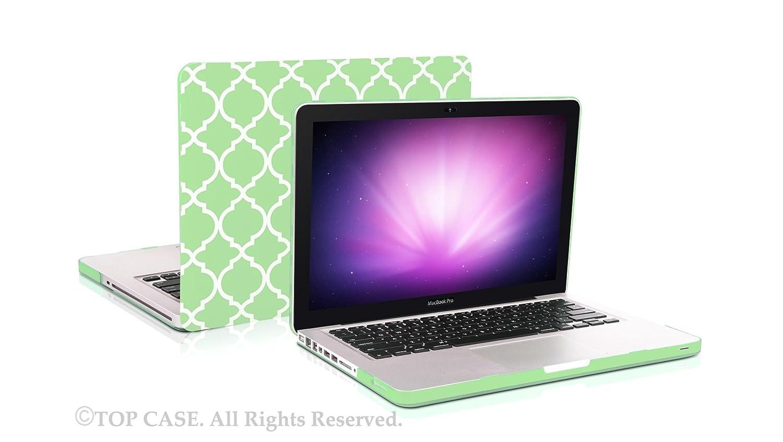 "Quatrefoil Moroccan RED Matte Hard Case for Macbook PRO 13/"" Retina A1425 /& A1502"