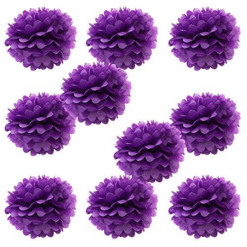 Crimson Pom Pom - WYZworks Set of 10 - Purple 8