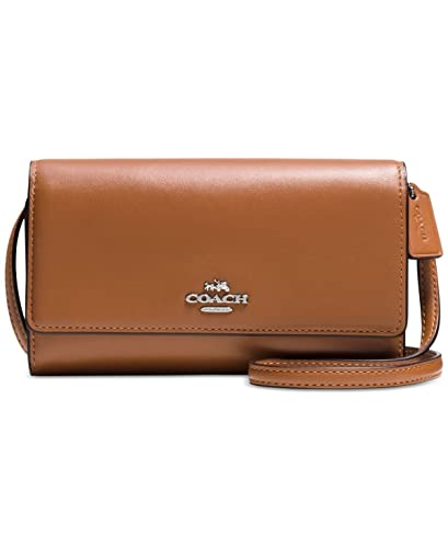 c76108de90 COACH Phone Crossbody in Smooth Leather  Amazon.co.uk  Shoes   Bags