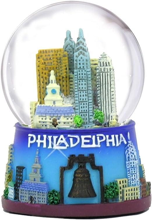 Philadelphia Snow Globe