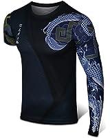 ninisexly オーバーウォッチ Overwatch hanzo tシャツ 吸汗速乾 運動Tシャツ 半袖 高品質 プリント tシャツ (S)