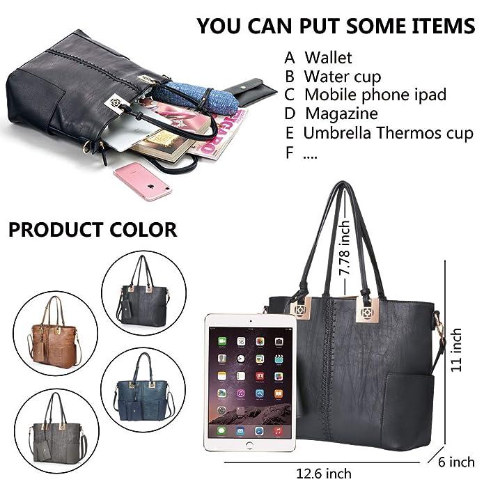 Amazon.com: Oteawe - Bolsos de mano para mujer, de piel ...