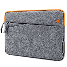 iPad Mini 4 Case, Tomtoc 7.9 Inch Tablet Sleeve Case Bag for iPad Mini 4/3/2/1, Samsung Galaxy Tab S2 8.0/ Tab A 7.0/ Tab 3 7.0, Asus Zenpad Z8s/ Google Nexus 7, Apple Smart Keyboard Compatible, Gray