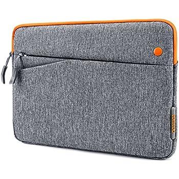 iPad Pro 10.5 Case, Tomtoc 10.5 Inch iPad Pro | 9.7 inch New iPad 2017 | iPad Pro | iPad Air 2 | Samsung Galaxy Tab Sleeve Protective Bag with Accessory Pockets, Apple Smart Keyboard Compatible, Gray