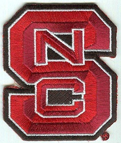 North Carolina State University, College & University Embroidery Patch, Sticker, Scrapbook - Carolina University Embroidery