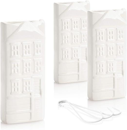 Blanco B/&F Humificador para Radiador Cer/ámico con Colgante En Aluminio//Evaporador De Agua para Radiador//Color Blanco 18cm x 8cm