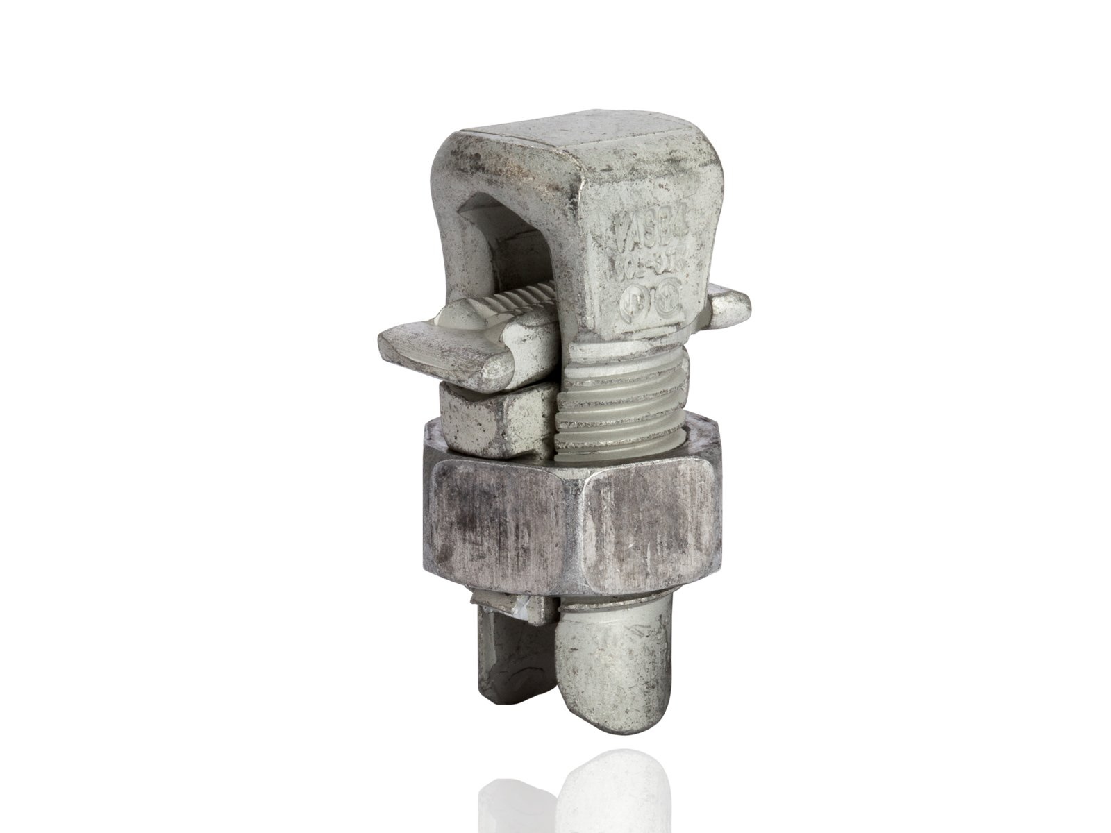 Aluminum Dual-Rated Split Bolt - APS Series, 0.101'' - 0.232'' Wire Diameter Range, 165lbs Torque by NSI