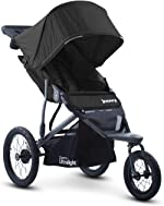 Joovy Zoom 360 Ultralight Jogging Stroller, Large Canopy, Lightweight Jogger, Extra