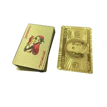 LouiseEvel215 Juego de Cartas de Oro Juego de Cartas de Oro ...