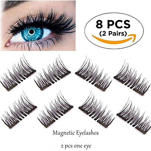 70881a724d1 New Magnetic False Eyelashes-Ultra Thin 3D Fiber Reusable - Import It All