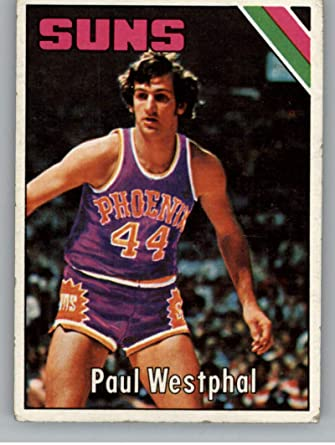Amazon.com: 1975-76 Topps Basketball SET BREAK ONE #186 Paul Westphal Phoenix Suns Official ABA or NBA Trading Card From The Topps Company: Collectibles & Fine Art