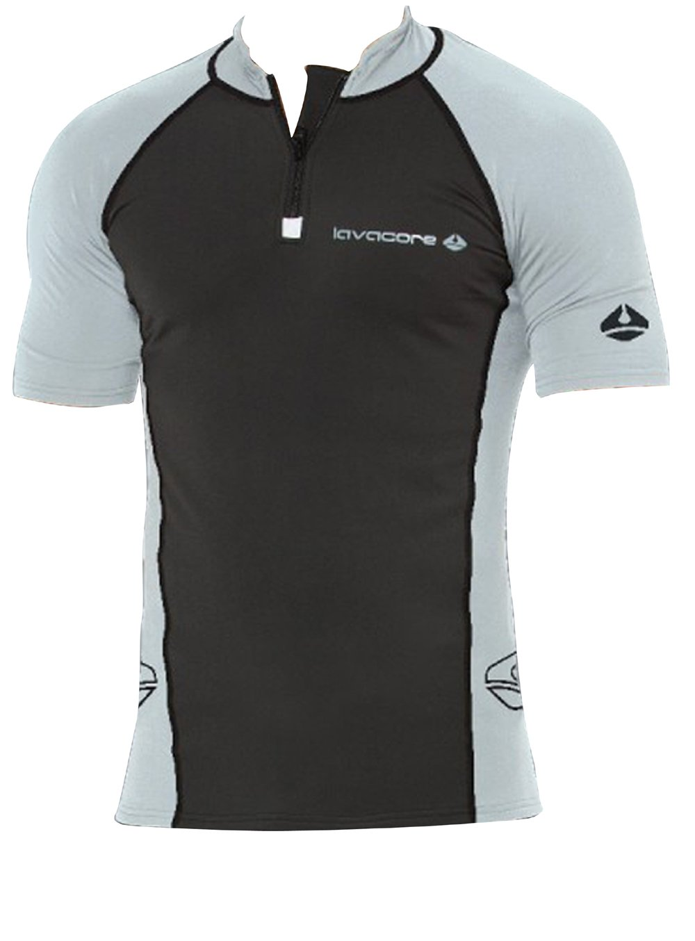 LAVACORE LAVASKIN MEN'S SHORT SLEEVE SHIRT RASH GUARD 85%OFF