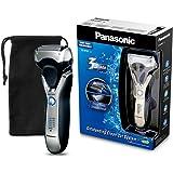 Panasonic ES-RT67-S503 Rasoio 3 Lame, Blocco Radente Flessibile, Motore Lineare 10000 giri/m, Display LED a 5 Fasi, Nero/Argento