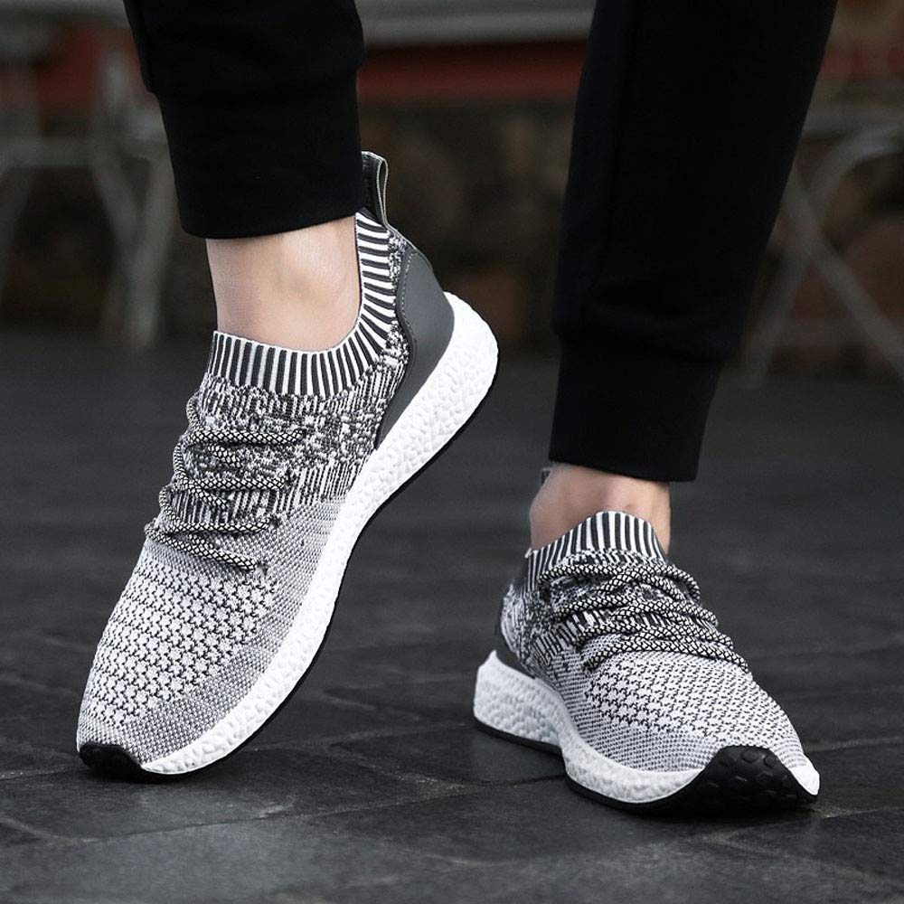 Amazon.com | Mysky Weight Breathable Sneakers Easy Walk Casual Sport Shoes for Men | Fashion Sneakers