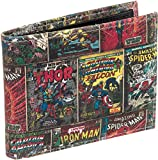 Marvel Comics Genuine Leather Bifold Wallet w/Gift Box (Multi-Character)