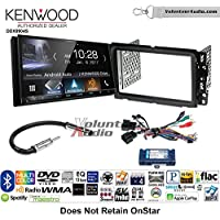 Volunteer Audio Kenwood DDX9904S Double Din Radio Install Kit with Apple CarPlay Android Auto Bluetooth Fits 2013-2014 Buick Enclave, 2013-2014 Chevrolet Traverse