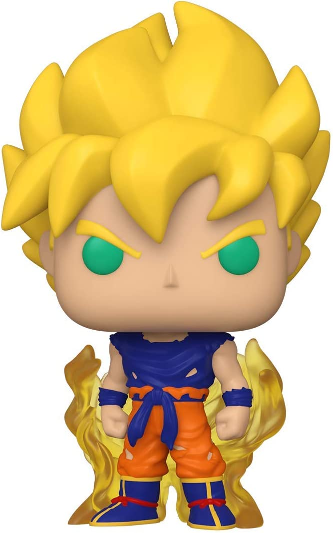 Funko-Pop Animation: Dragon Ball Z S8-Super Saiyan Goku (First Appearance) Dragonball SS Figura Coleccionable, Multicolor (48600)