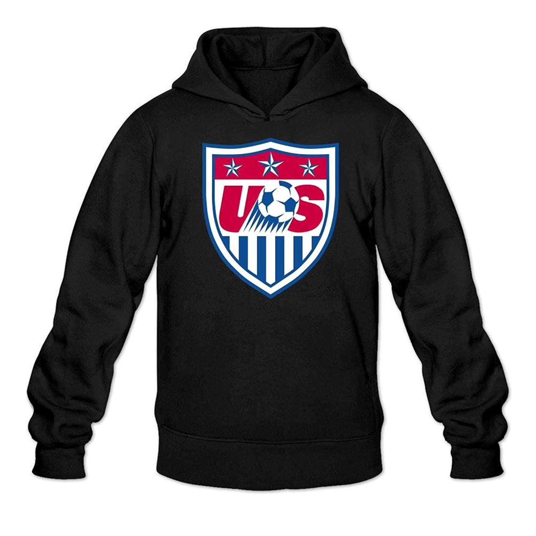 delicate Men's USA Soccer Pullover Hoodie Sweatshirt