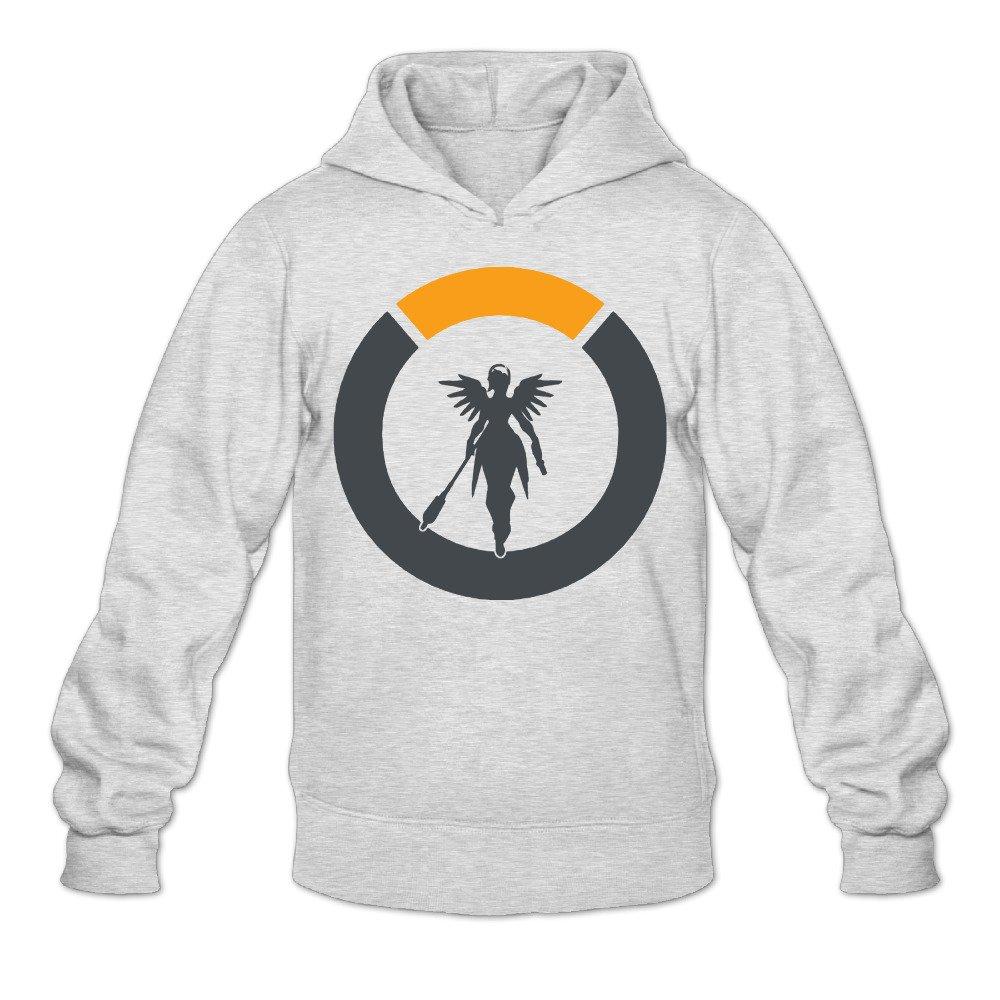 cca0ec47c Men's Overwatch Mercy Logo Hooded Sweatshirt at Amazon Men's Clothing store: