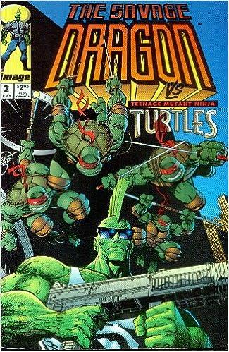 The Savage Dragon / Teenage Mutant Ninja Turtles #2: Amazon ...