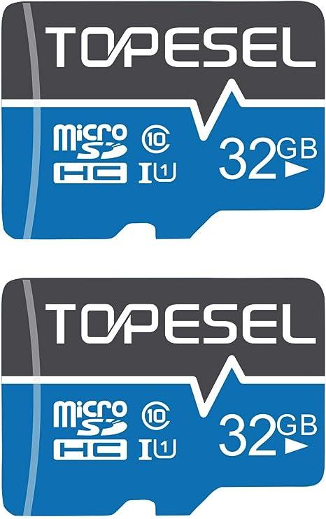 Micro Sd Karte 32gb Topesel Sd Karte Microsd Computer Zubehör