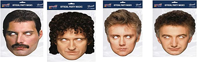 Official Queen Band Celebrity Face Masks