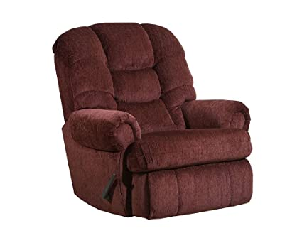 Incredible Lane Stallion Big Man Comfort King Large Wallsaver Recliner In Torino Wine Made For The Big Guy Or Gal Rated For Up To 500 Lbs Extended Length Andrewgaddart Wooden Chair Designs For Living Room Andrewgaddartcom